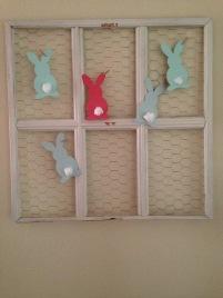 Frame Wire Bunny