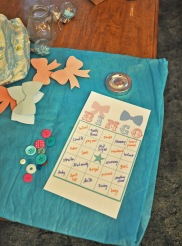 Handmade Bingo with Buttons